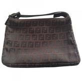 Fendi Brown Cloth Clutch bag