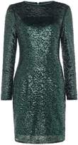 JS Collections Long sleeve sequin midi