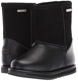Emu Waterproof Trigg (Toddler/Little Kid/Big Kid) (Black) Girls Shoes
