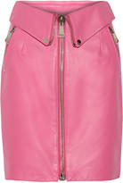Moschino Leather skirt