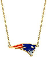 Unbranded NFL Sterling Silve New England Patriots Enamel Pendant Necklace