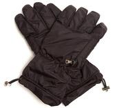 Prada Padded nylon gloves