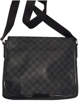 Louis Vuitton \Daniel\ graphite chequered bag, medium model