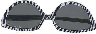 Mykita x Martine Rose SOS cat-eye sunglasses