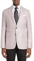 Armani Collezioni Men's Trim Fit Blazer
