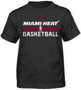 adidas Little Boys' Miami Heat Practice Wear Graphic T-Shirt