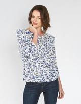 Fat Face Linley Songbirds Ruffle Top