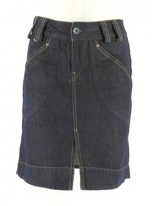 Ralph Lauren Navy Cotton Skirt for Women
