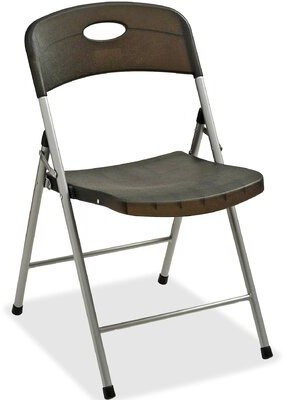 Thumbnail for your product : Lorell Translucent Plastic/Resin Folding Chair