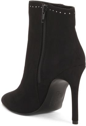Pointy Toe High Heel Booties