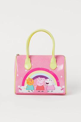 H&M Printed handbag - Pink