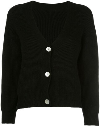 Apparis Avery ribbed knit cardigan