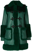 Philosophy Di Lorenzo Serafini shearling trim coat