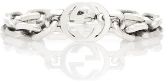 Gucci Interlocking G silver bracelet