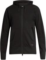 Y-3 Future Craft zip-front hooded sweatshirt
