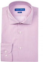 Vince Camuto Oxford Trim Fit Striped Dress Shirt