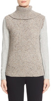 Nordstrom Wool & Cashmere Turtleneck Sweater Vest