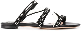 Alexander McQueen Caged Flat Sandals