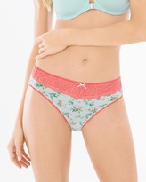 Soma Intimates Embraceable Lace High Leg Brief