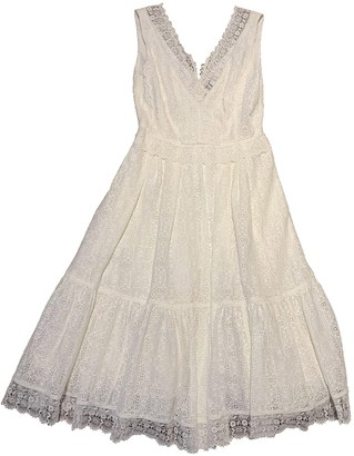 Erdem White Lace Dress for Women