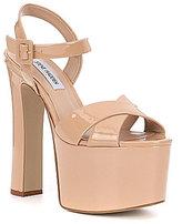 Steve Madden Tammy Platform Patent Leather Dress Sandals