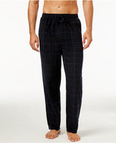 Perry Ellis Men's Open-Grid Fleece Pajama Pants