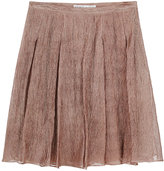 for O.C. / Pleated Metallic Skirt