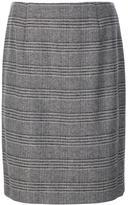 Carolina Herrera 'Prince Wales' pencil skirt