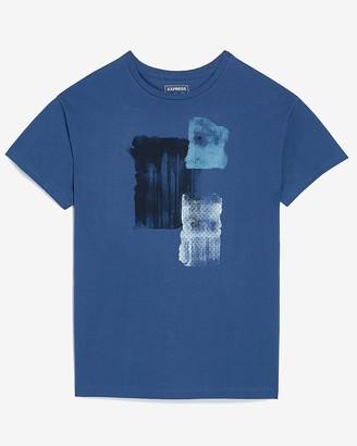Express Brushstroke Graphic T-Shirt
