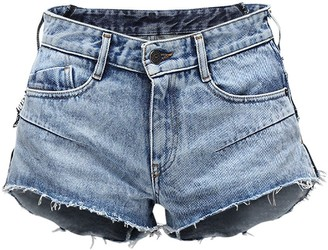 Diesel De-Rimy Double Denim Shorts