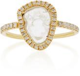 Nina Runsdorf Slice Diamond Ring