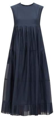 Max Mara S Lidia Dress - Womens - Navy