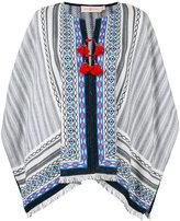 Tory Burch multi-pattern tunic