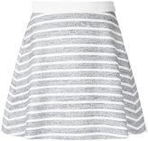 Loveless - flared mini skirt - women - Cotton/Acrylic/Polyester - 34