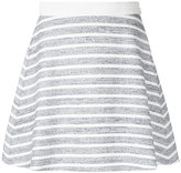 Loveless flared mini skirt