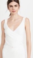 Jonathan Simkhai Sleeveless Wrap Top