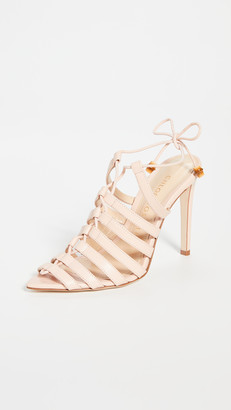 Chloe Gosselin Kristen Pointed Strappy Sandals