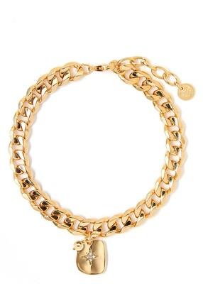 Tess + Tricia Textured Star Charm Bracelet
