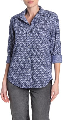 Grayson The Hero Washed Floral Print Cotton Shirt