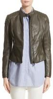 Belstaff Women's Mollison Leather Moto Jacket