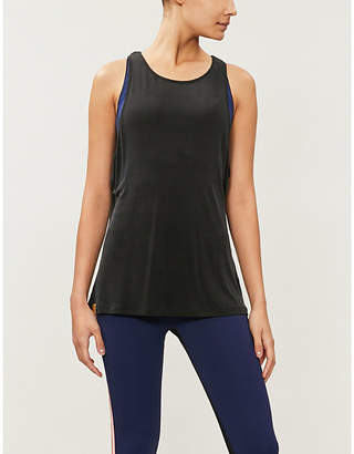 Monreal London Ribbed jersey tank top