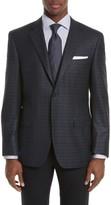Canali Men's Siena Classic Fit Plaid Silk & Wool Sport Coat