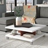 Bronx Cuffie Coffee Table with Storage Ivy