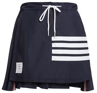Thom Browne Pleated Back Mini Skirt