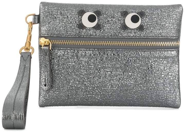 Anya Hindmarch Circulus eyes clutch bag