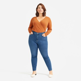 Everlane Authentic Stretch High-Rise Skinny