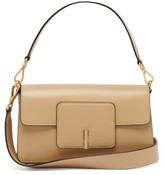 Wandler Georgia Leather Shoulder Bag - Womens - Beige