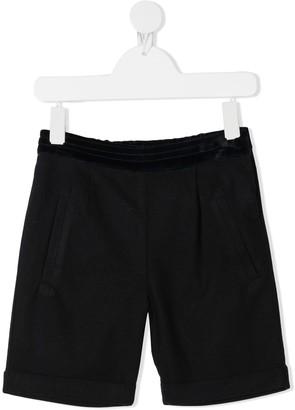 Patachou Velvet Waistband Shorts