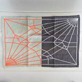Posh Totty Designs Interiors Grey And Neon Decorative Placemat