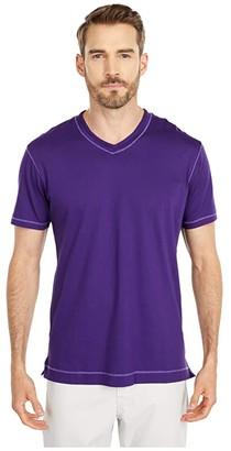 Robert Graham Maxfield T-Shirt (Purple) Men's T Shirt